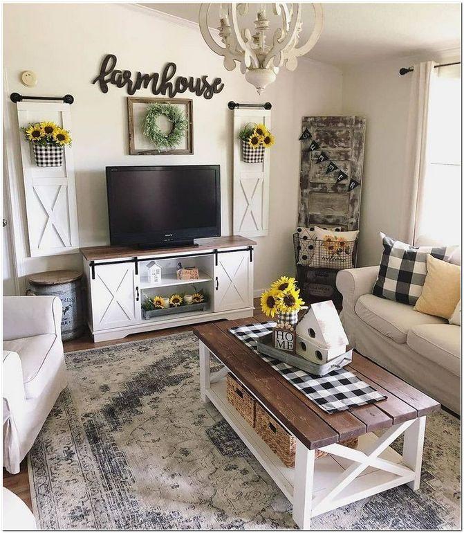 32 Best Farmhouse Living Room Tv Stand Design Ideas 11 Homeexalt